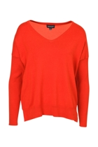 Boxy V Neck Knit
