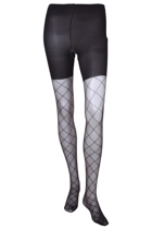 Diamond Sheer fashion Tights