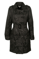 Orientique Lace Trench Coat