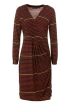 Stripe Tuck Detail Dress