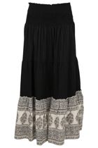 Dash Cotton Maxi Skirt