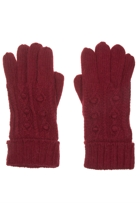 Wool Angora Blend Gloves