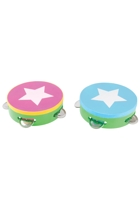 Be A Star Wooden Tambourine