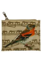 Small Singing Bird Zip Purse
