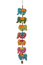 Hanging Elephants 7pcs