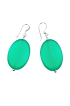 Soho earrings emerald small2