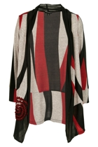 Threadz Joker Swirl Cardi