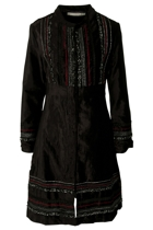 Orientique Embroidered Tzar Coat