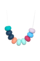 Paris Doughnut Bead Necklace