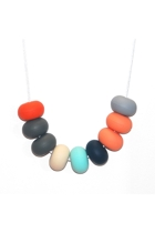 Oslo Doughnut Bead Necklace