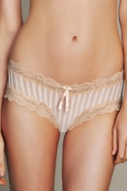 Sheer Ribbons Culotte Brief
