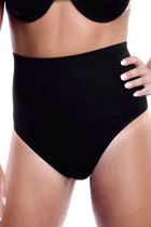High waist g string black rs small2
