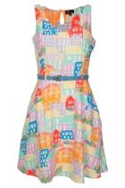 Yumi A La Maison Dress With Belt