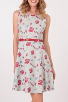 Yumi London Dress With Belt