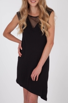 Living Doll Mesh Insert Dress