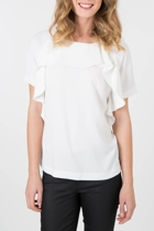Living Doll White Ripple Top
