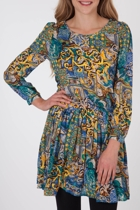 Nest Picks Roman Print Dress