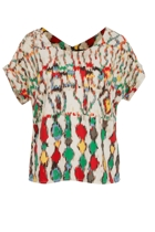Mirage Printed Top