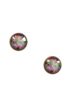 Frangipani In Bloom Stud Earrings