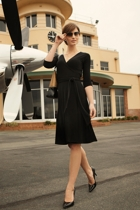 Reverse wrap dress small2