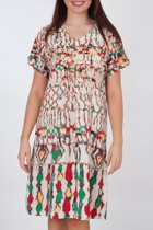 Mirage Printed Dress