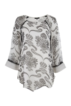 Mia Shoulder Detail Kaftan