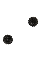 Adorne Diamonte Ball Stud Earring