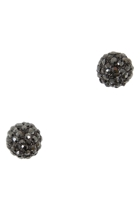 Diamonte Ball Stud Earring
