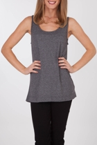 Mink Pink Jersey Tunic Top