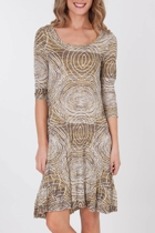 Crush Mesh Zanzibar Dress