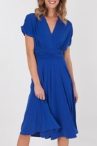 Martini Woman Cap Slv Middi Dress