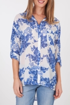 Living Doll Blue Willow Shirt