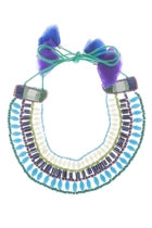 Zoda Tictac Tie Up Necklace