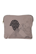 Eco Cotton Ipad/E-Reader Mountain Clutch
