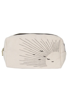 Eco Cotton Emb Sun Cosmetic Bag