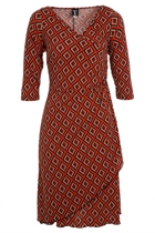 Stretch Wrap Dress