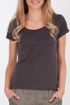 Mink Pink Cotton Scoop Tee