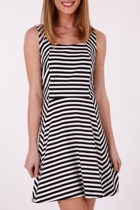 Sass Mademoiselle Stripe Dress