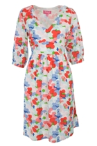 POLLY Waist Tie Dress Smartie Dot