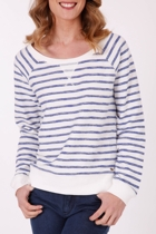 Stripe L/S Sweater