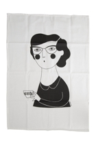 Woman Tea Towel