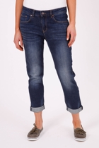 Slim Boyfriend Crop Jean