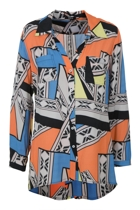 Bridget Tribal Print Shirt
