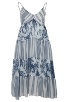 Toile Mid Length Dress