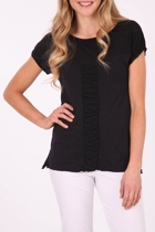 Vigorella Mesh Spliced Tee
