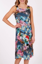 Person-elle Pansy Bloom S/L Dress