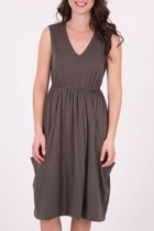 Virginia Drape Front Dress