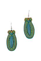 Zoda Beaded Drop Earrings