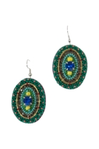 Emerald Eye Earrings