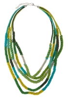 Beaded Seaweed Necklace